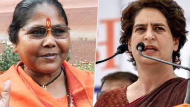 Photo of इस बीजेपी महिला सांसद ने प्रियंका को बताया फर्जी गांधी, कहा- ये है असली नाम